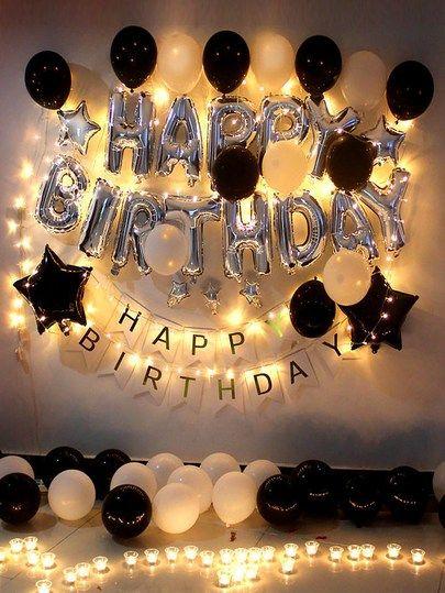 Birthday Decorative Balloon Set 48pcs