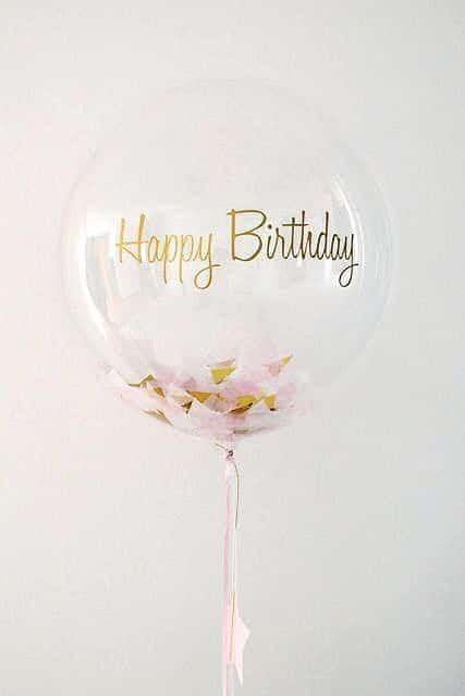 Birthday Quotes _ PINK BALLOON - giant ballon…