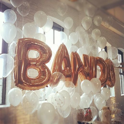 Letter Balloon Ideas – BAND Mylar Balloon