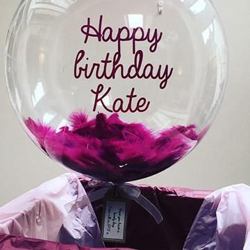 Message Balloons with Feather – Matteo Party